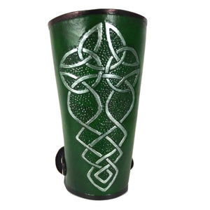 Celtic Leather Bracer