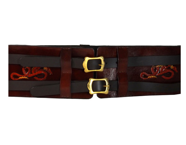 LARP Belt with Dragon Design