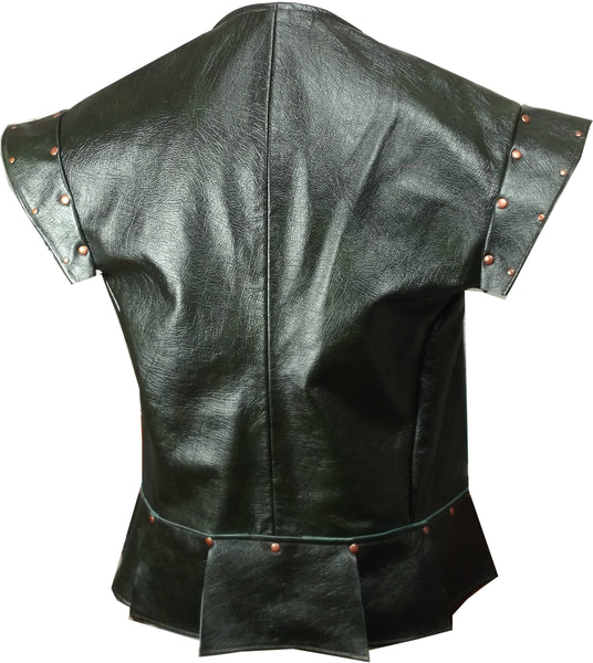 Leather Jerkin - Choose Colour and Size