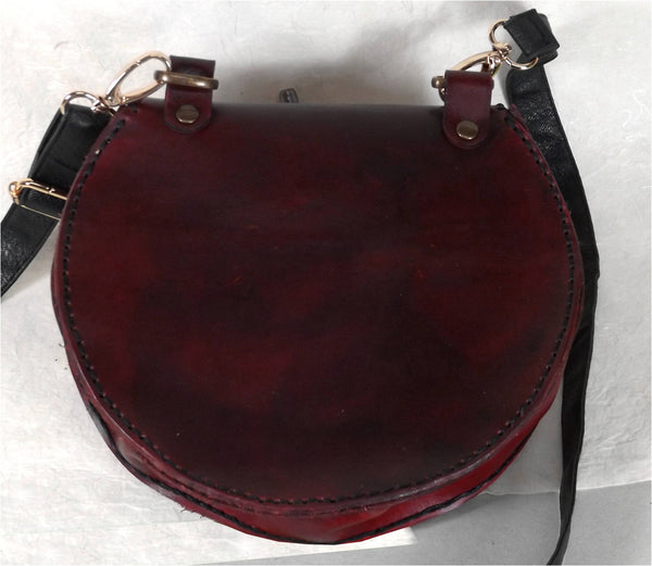 Raven Tree Leather Belt Pouch / Bag