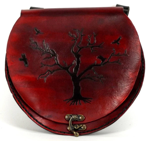 Raven Tree Belt Pouch