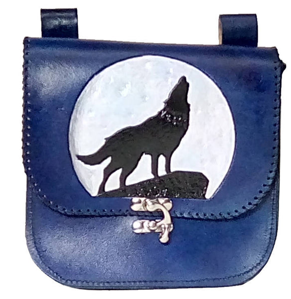 Wolf Moon Belt Pouch