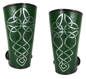 Celtic Knotwork Leg Armour