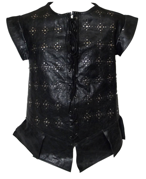 Studded Leather Pirate Jerkin - Choose Colour