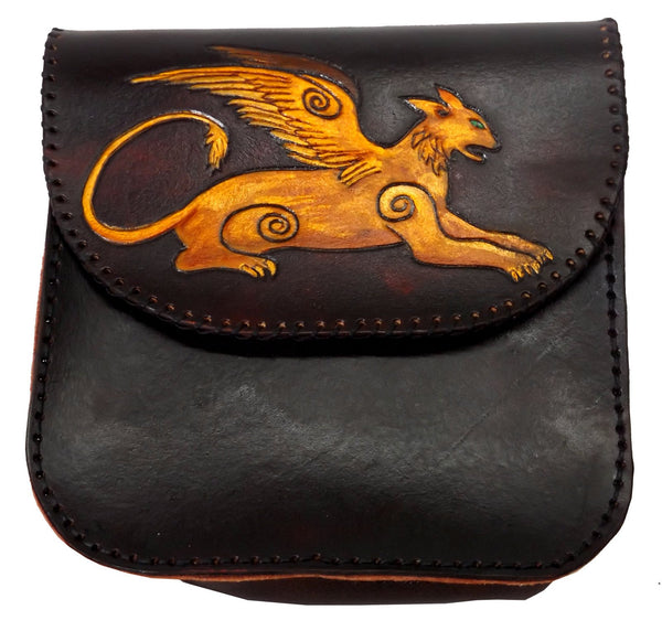 Winged Lion Belt Pouch
