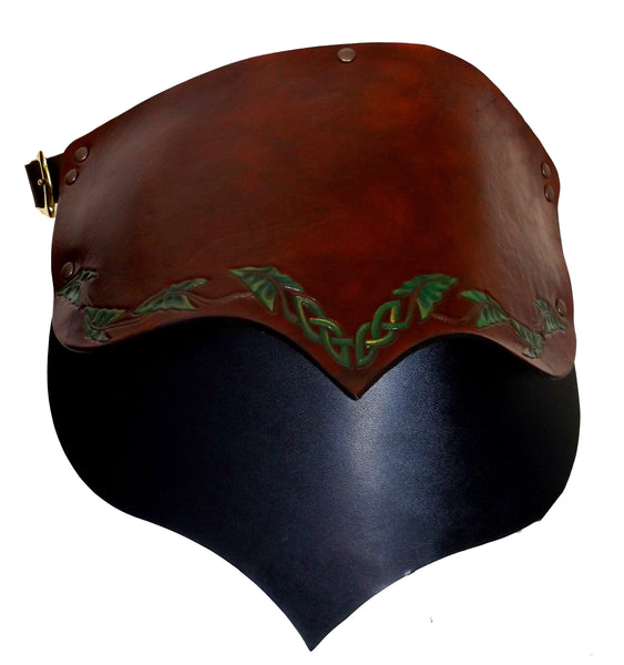 Celtic Knot Leaves Design Pauldron