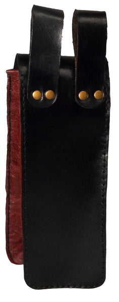 Celtic Phoenix  Leather Bottle Belt Pouch - Choose Colour