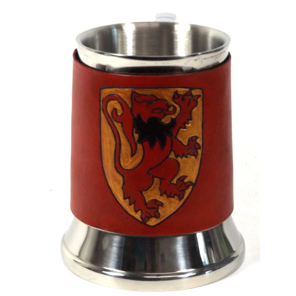 Lion Shield Tankard