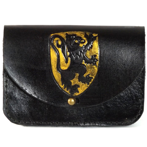 Lion Shield Belt Pouch