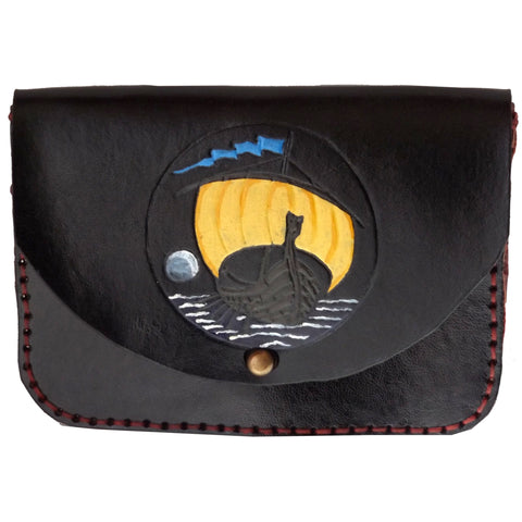 Viking Ship Tobacco Pouch