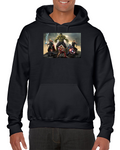 Hulk Thor Iron Man Captain America Black Widow Clint Barton Hoodie