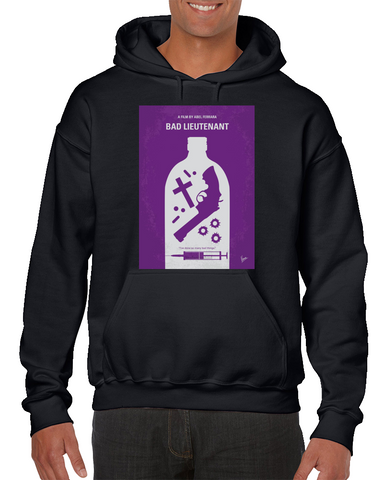 Bad Lieutenant Minimal Movie Poster Hoodie