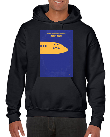 Airplane! Minimal Movie Poster Hoodie