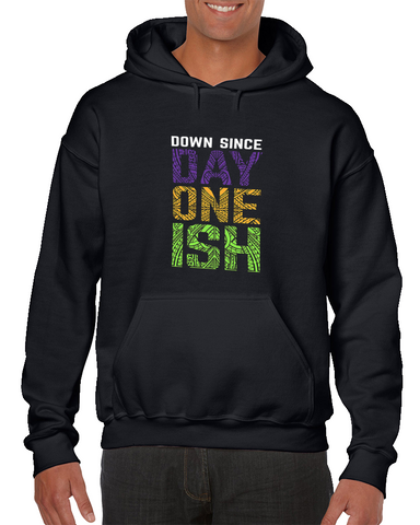 Wrestlemania 34 The Usos Down Since Day One Ish Wrestling Hoodie