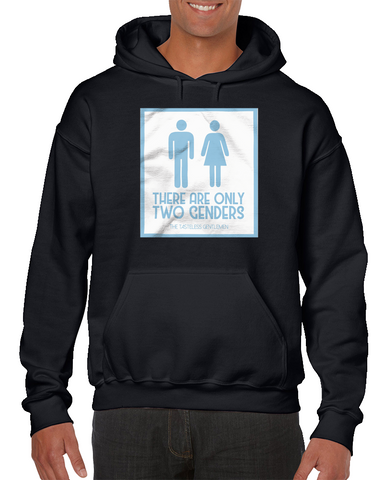 There Are Only Two Genders Meme Hoodie
