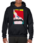 Wonder Woman Hot Sexy Girl Ass Booty Comics Pop Hoodie