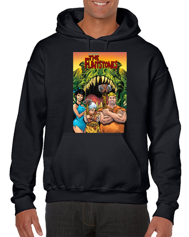 The Flintstones Comics Art Hoodie