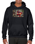 Deadpool Guns Fire Comics Hoodie