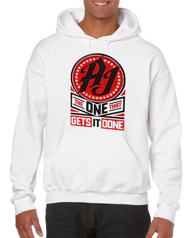 Aj Styles The One Who Gets It Done Special Editio Wrestling Hoodie