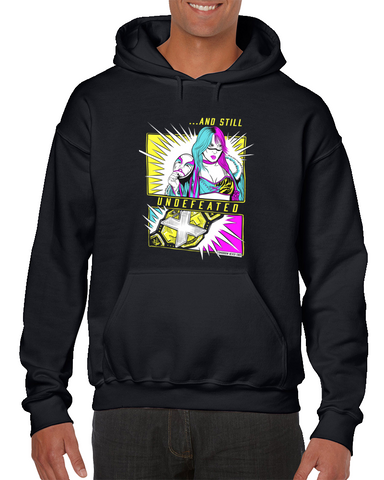 Asuka And Still Undefeated Wrestling Hoodie