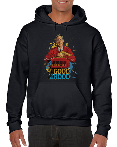 Mr. Rogers - It's All Good In The Hood Meme Hoodie