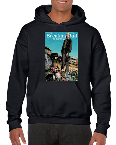 Breaking Bad Comics Hoodie