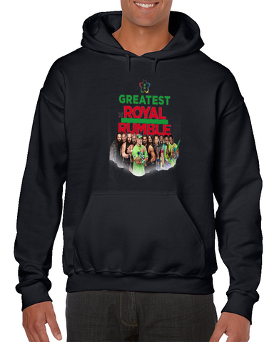 Wwe The Greatest Royal Rumble Wrestling Hoodie