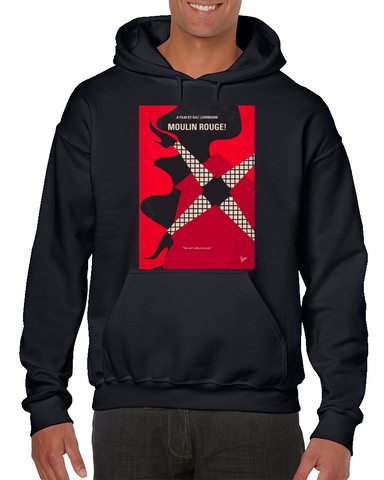 Moulin Rouge Minimal Movie Poster Hoodie