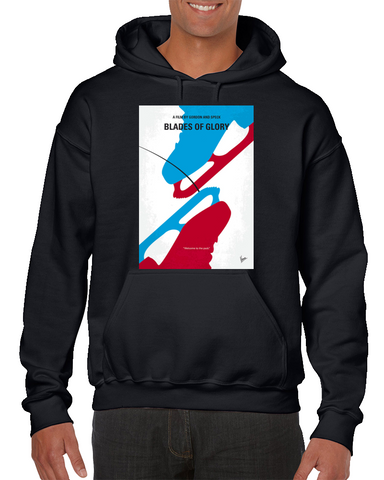Blades Of Glory Minimal Movie Poster Hoodie