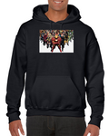 Iron Man Deadpool Wonder Woman Fantastic Four Comics Hoodie