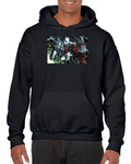 Deadpool Fighting Comics Hoodie
