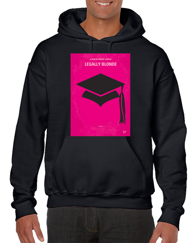 Legally Blonde Minimal Movie Poster Hoodie