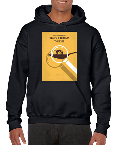 Honey I Shrunk The Kids Minimal Movie Poster Hoodie