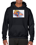 Supergirl Hot Woman Girl Superman Comics Hoodie
