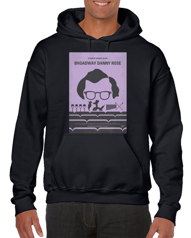 Broadway Danny Rose Minimal Movie Poster Hoodie