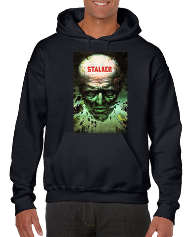 4a858535a55b66 Stalker (1979) Imdb Top 250 Movie Poster Hoodie