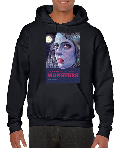 My Favorite Thing Is Monsters Comics Hoodie