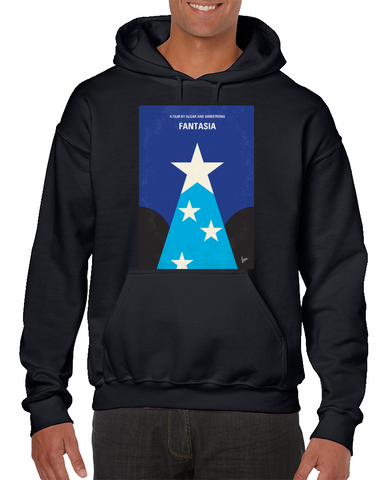 Fantasia Minimal Movie Poster Hoodie