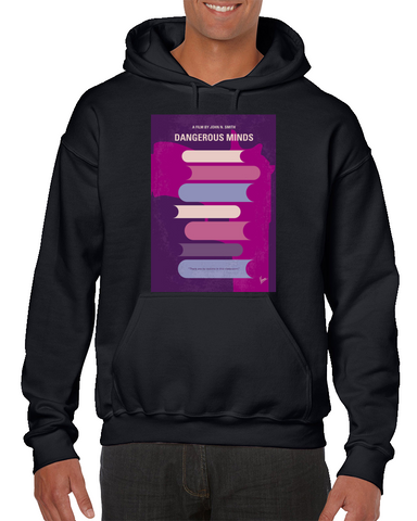 Dangerous Minds Minimal Movie Poster Hoodie