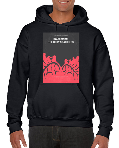 Invasion Of The Body Snatchers Minimal Movie Poster Hoodie