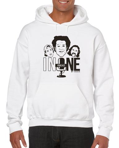 #inone Podcast By Sauce (brown) Sauce Hockey Hoodie