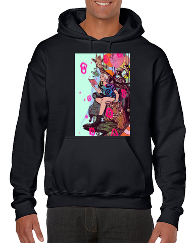 Shade The Changing Girl Comics Hoodie