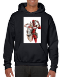 Deadpool Harley Quinn Fanfiction Hoodie