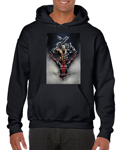 Deadpool Cable Comics Hoodie