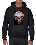The Punisher Skull Comics Hoodie