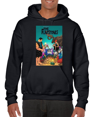 The Flintstones Art Comics Hoodie