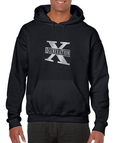 D-generation X Two Words Retro Wrestling Hoodie