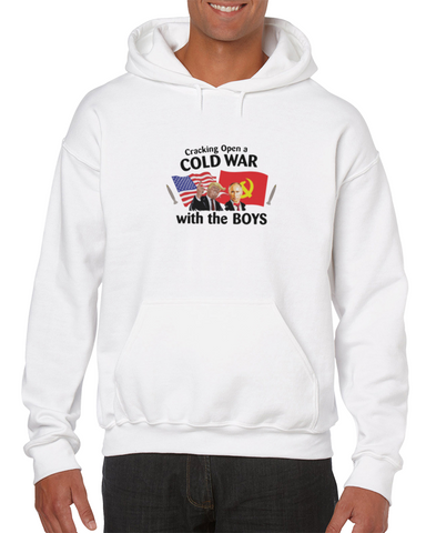 Cracking Open A Cold War With The Boys Meme Hoodie