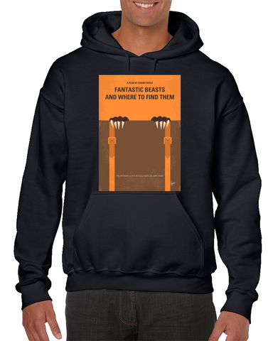 Fantastic Beasts And Where To Find Them Minimal Movie Poster Hoodie