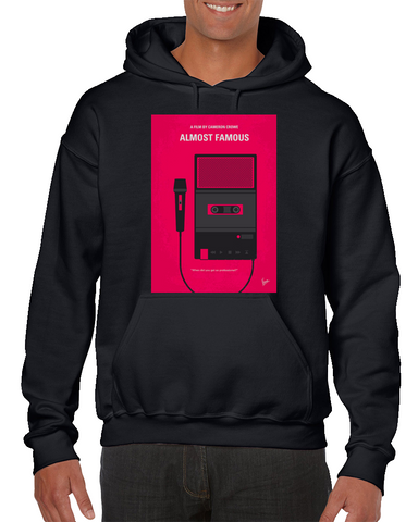Almost Famous Minimal Movie Poster Hoodie
